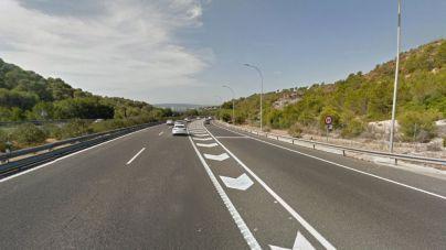 Muere atropellada una mujer en la autovía de Andratx