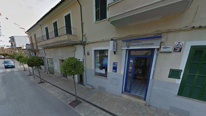 La administración de lotería en la que se ha vendido el premio, situada en Lloseta