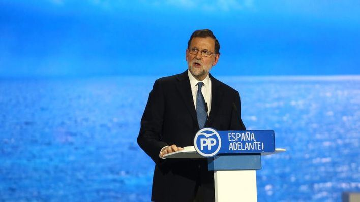 Mariano Rajoy, en el congreso del Partido Popular