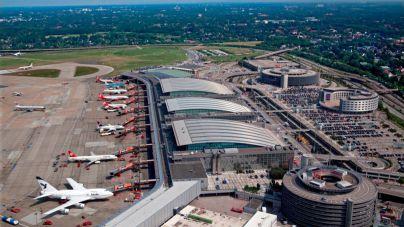 9 hospitalizados por una sustancia irritante en el aeropuerto de Hamburgo