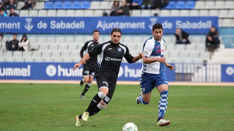 El Atlètic Balears pierde contra el Sabadell 1-0