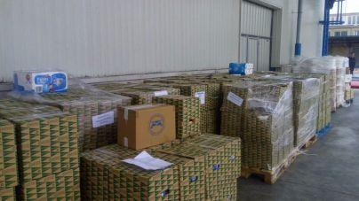 El Corte Inglés recoge 4.800 kilos de productos para Banco de Alimentos
