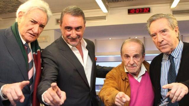 Carlos Herrera reúne a José María García, Iñaki Gabilondo y Luis del Olmo