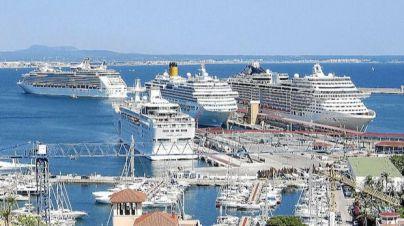 Baleares perdió un 7,7 por ciento de cruceristas en 2016
