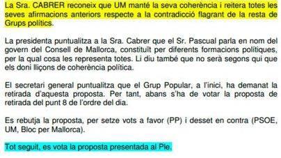 El PP denuncia que el Pacte rechazó rescatar el túnel de Sóller en 2007