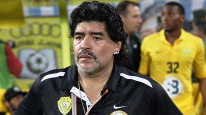 La novia de Maradona le acusa de agredirla en un hotel de Madrid