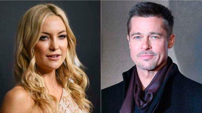 Brad Pitt y Kate Hudson están juntos