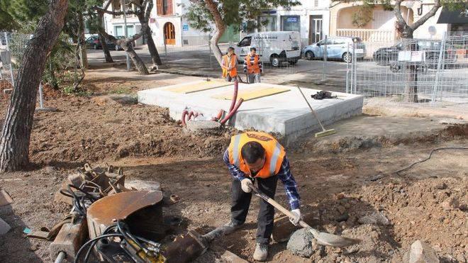 La estación de aguas residuales de Portocolom estará renovada antes de verano