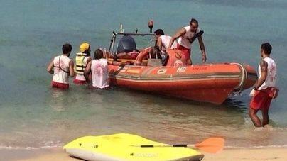 Las intervenciones de socorristas en las playas de Palma se dispararon un 23,5 por ciento en 2016