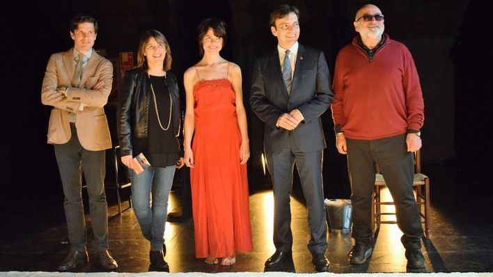 El Teatre Principal acoge hoy el montaje de danza 'Sur de sal'