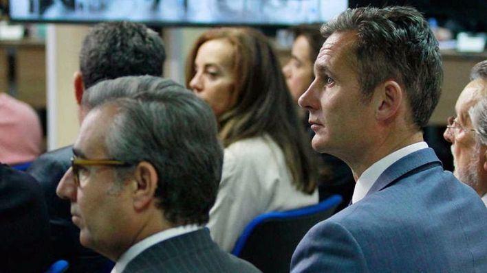 Torres y Urdangarin durante el juicio del caso Nóos