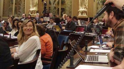 Patricia Gómez en el Parlament
