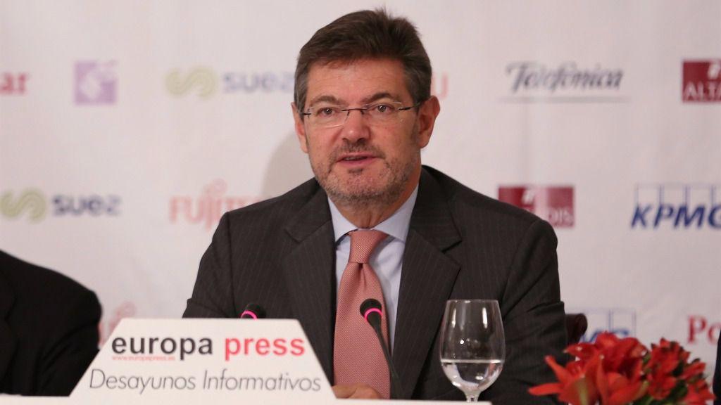 Intervención de Rafael Catalá