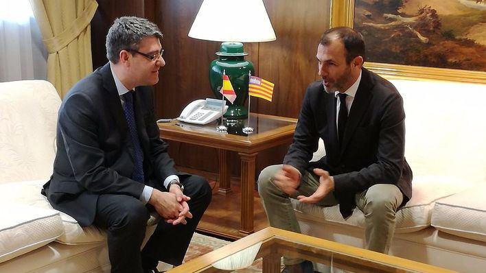 Barceló exige que Balears tenga las mismas condiciones de conexión con banda ancha que las del continente