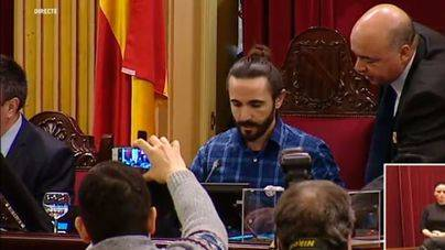 Multa al presidente del Parlament