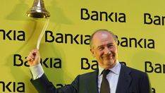 Rodrigo Rato, el día que Bankia salió a Bolsa