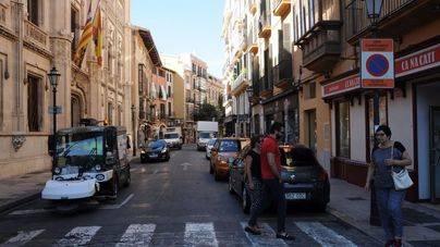 Cortes en el tráfico para aparcar con motivo de Sa Rua y Sa Rueta