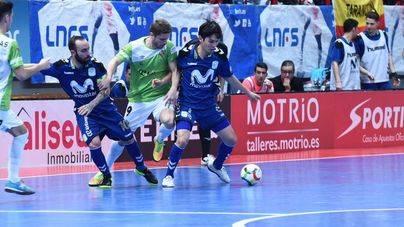 El Palma Futsal cae por 5-1 ante Movistar Inter