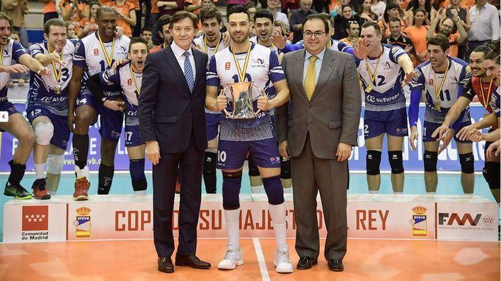 El Ca'n Ventura se adjudica la Copa del Rey de Voleibol
