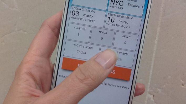 Las reservas de viajes a través de dispositivos móviles aumenta un 34 por ciento