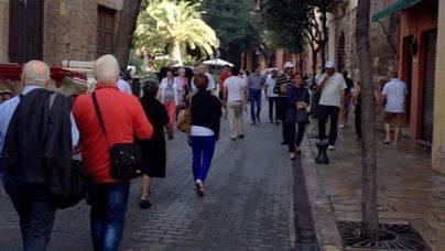 El gasto de los turistas extranjeros en Baleares aumentó un 6,1% en enero, hasta los 102 millones