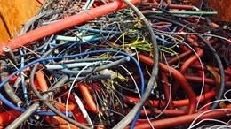 Endesa gestiona 148,2 toneladas de residuos de los trabajos de mejora