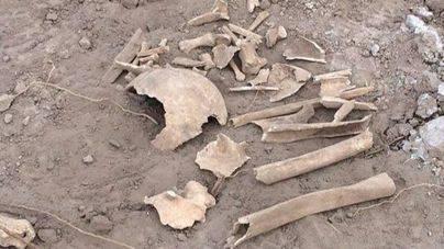 La Policía investiga si los huesos humanos hallados en Son Moix proceden de escombros de calle Oms