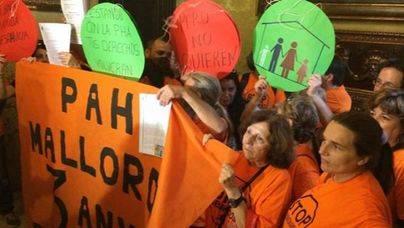 Las ejecuciones hipotecarias caen en picado en Balears