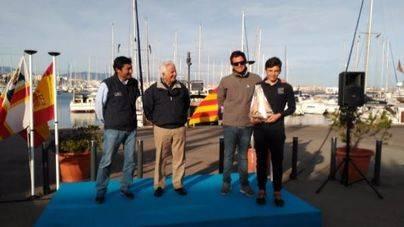 Javier Vilariño, bronce del Campeonato de Baleares de Láser 4.7
