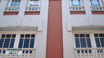 El precio de la vivienda sube en Balears un 4,4% en un año