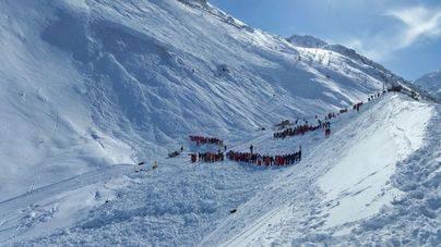 Ninguna víctima tras la avalancha en los Alpes franceses