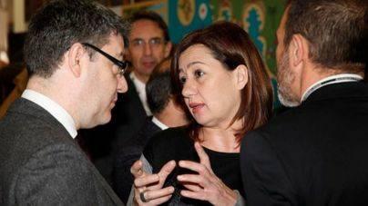 Armengol reprocha al ministro Nadal el veto a la tarifa plana interislas