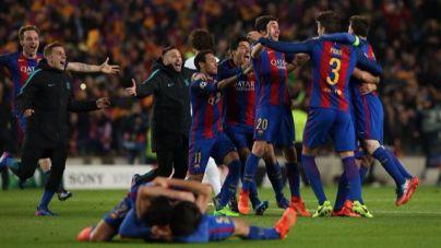 Puigdemont asocia la remontada del Barça con el proceso soberanista
