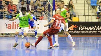 El Palma Futsal vuelve a caer en cuartos ante El Pozo de Murcia