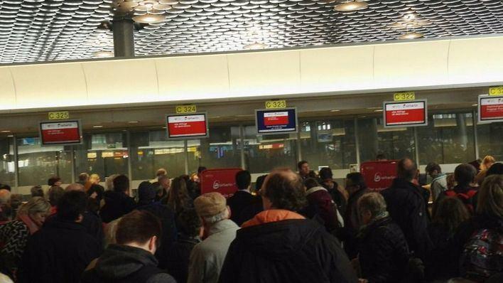La delegación balear en la ITB sufre una odisea para regresar a Mallorca