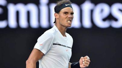 Rafa Nadal irrumpe fuerte en Indian Wells