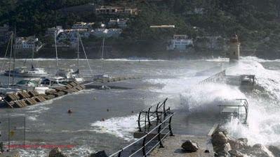 Viento, bajada brusca de las temperaturas y temporal en el mar con aviso amarillo de riesgo