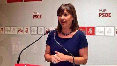Armengol apuesta por una alianza entre los candidatos opuestos a Susana Díaz