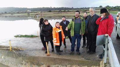 El conseller visitó las zonas más afectadas por las últimas inundaciones