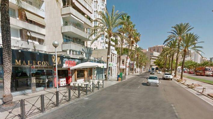 Detenido por robar y agredir a un hombre en un local del Passeig Marítim