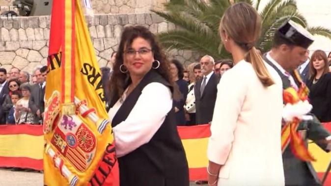 Costa dice que el Govern respeta las juras de bandera civiles porque