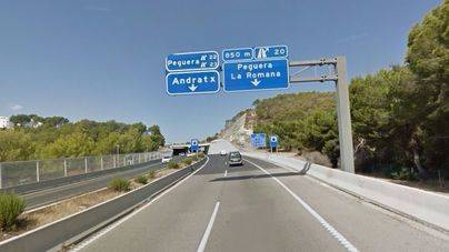 Las obras de reparación Palmanova-Peguera-Palma se inician hoy
