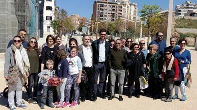 Los vecinos celebran la inauguración de la nueva fase de rehabilitación d'Es Baluard del Príncep