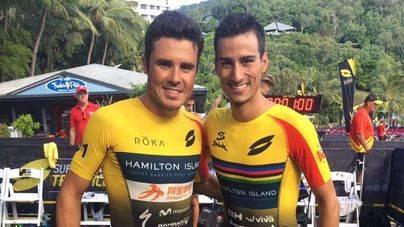 Mario Mola es 2º en Hamilton (Australia)