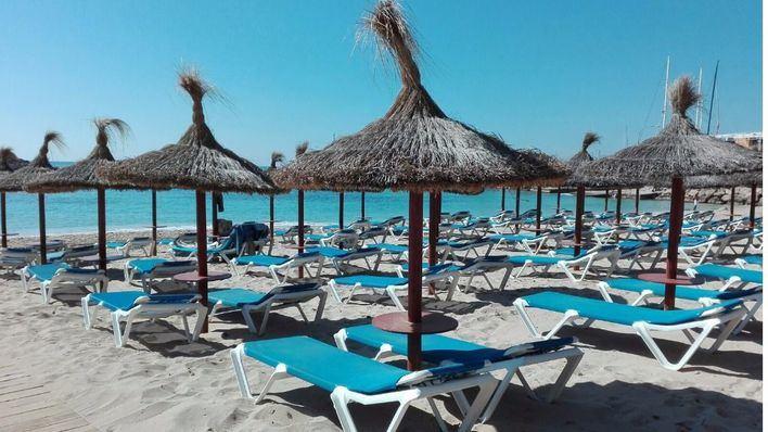La temporada se adelanta en las playas de Calvià