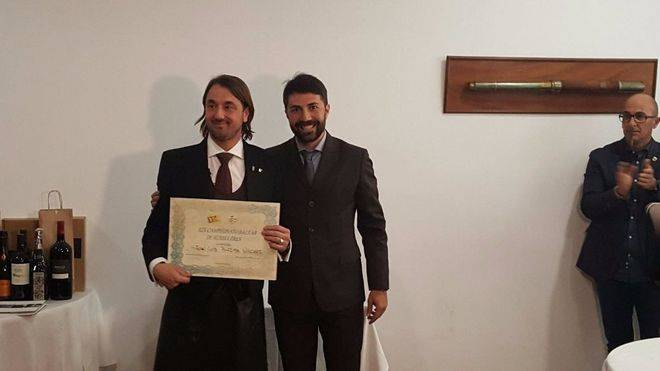 Juan Luis Biedma, mejor sumiller de Balears