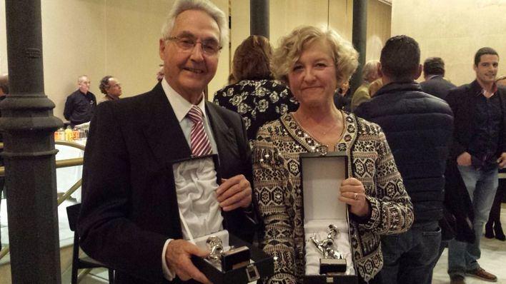 Felipe Moreno y Anna Nicholas, Premios Siurell de Plata de la ABATI