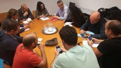 Reunión 'in extremis' con el Govern