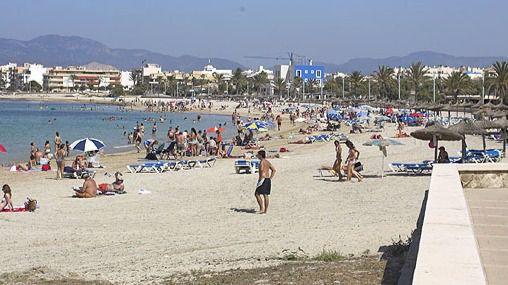 Una zona muy concurrida por residentes y turistas