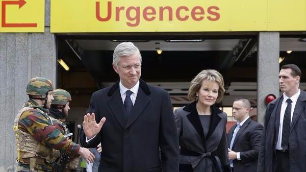 Minuto de silencio en el aeropuerto de Bruselas un año después del atentado